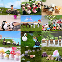New Miniature Fairy Garden Ornament Decor Pot DIY Craft Accessories Dollhouse