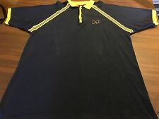 UNIVERSITY OF MICHIGAN WOLVERINES NCAA POLO / GOLF SHIRT BY CADRE MEN'S  XL