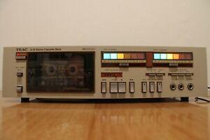 SUPER Piastra cassette TEAC V-9 Stereo Cassette Deck Three Motor