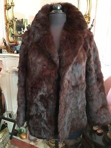 Real Fur Coney Fur Glamorous Jacket