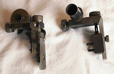 RARE Norwegian Krag diopter peep sight Landro Hauges Parker Hale target rifle
