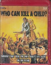 WHO CAN KILL A CHILD horror *RED CASE LIMITED EDITION BLU-RAY NEW* Mondo Macabro