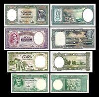 Grecia - 2x 50, 100, 500, 1.000 Drachma - Edición 01.01.1939  - Reproducción 32