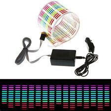 45 x 11cm Sound Musik aktiviertes Sensor Auto Sticker LED Light Equalizer Glow