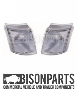 *FITS FORD TRANSIT MK4 1991-1995 FRONT CLEAR INDICATORS RH & LH (PAIR) LL1502