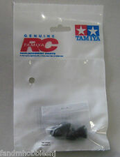 New Tamiya Bruiser 58519 Transmission Cap 4 pc Bag 9804616 Black Rubber Plug Set