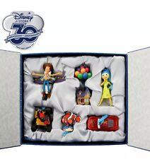 Disney Store 30th Anniversary Pixar hanging ornament set Limited Edition New