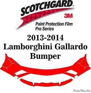 3M Scotchgard Paint Protection Film Pro Series 2013 2014 Lamborghini Gallardo