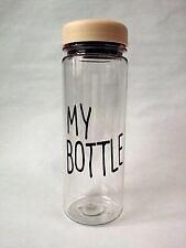 MY BOTTLE Eco-Friendly Bottle Tumbler BIO-Copolyester ECOZEN BPA Free 17oz Ivory