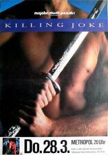 KILLING JOKE - 1985 - Konzertplakat - Love like Blood - Tourposter - Berlin