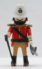 KOLONIAL OFFIZIER ENGLÄNDER BRITE Playmobil to Royale Zulu Tropenhelm Top Custom
