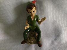 Disney Ceramic Figurine Peter Pan 1980's