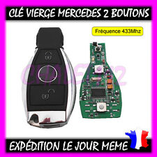Clé Vierge Clé Contact Smart Key + Électronique Mercedes Benz NEC BGA 2 Boutons