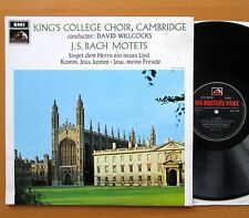 HQS 1144 Bach Motets King's College Cambridge Willcocks 1968 EX/EX Stereo
