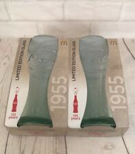 Coca Cola Glasses McDonalds Promotional Coke Cola Set of 2  1886 - 2011 125years