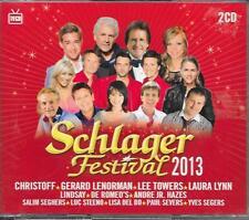 V/A - Schlager Festival 2013 (2 CD BOX) 42TR Belgium (ARS) Christoff Lisa del Bo