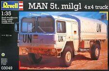 Revell Man 5t. milgl 4x4 truck Ref 03049 Escala 1/35