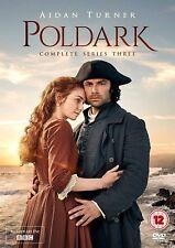 POLDARK Stagione 3 Serie Completa BOX 3 DVD in Inglese NEW .cp