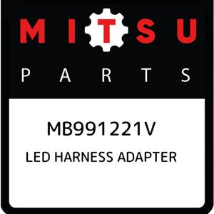 MB991221V Mitsubishi Led harness adapter MB991221V, New Genuine OEM Part