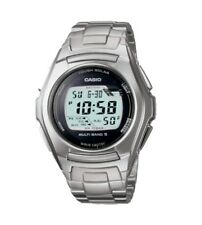 Casio WV-M120D Stainless Steel Tough Solar Atomic Waveceptor Mens Watch WV-M120