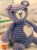 Teddy Bear Blankie Baby Toy Lovey Lovie Crochet PATTERN by ...