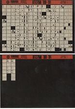YAMAHA XTZ 750 _ Service Manual _ Microfich _ microfilm _ 1990