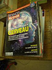 Lot de 23 numéros sciences et avenir
