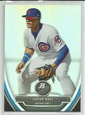 Javier Baez Chicago Cubs 2013 Bowman Platinum