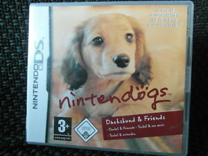 Nintendo DS  Spiel NINTENDÖGS DACHSHUND & FRIENDS.