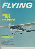 Flying Magazine Cessna's Spiffy New Skyhawk May 1967  Apache and Piper Plane AD