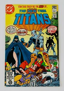 New Teen Titans #2 First Deathstroke Appearance 1st App Key Grail No Reserve!