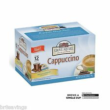 Grove Square Cappuccino French Vanilla 72 K-cups for Keurig