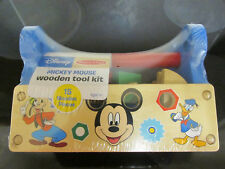 New Mickey Mouse Tool Kit Playset Building Toy 15pc Melissa & Doug Disney Boy 3+