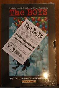 The Boys Definitive Edition Volume 4 HC Slipcase SEALED RARE OOP