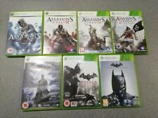 Xbox 360 (7 Game Bundle) Assassins Creed (x4) + Batman (x3) [£3 each] -Preowned