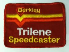 """Berkley Trilene Speedcaster Fishing Patch Embroidered Tackle 3"""" x 4"""""""