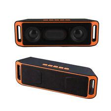 Mini Altavoz Bluetooth Inalámbrico Radio FM Reproductor de MP3 Estéreo Portátil