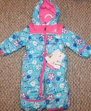 New! Girls Rugged Bear Pram/Snow suit (Fleece Lined! Warm;Winter!) - Size 3-6 mo