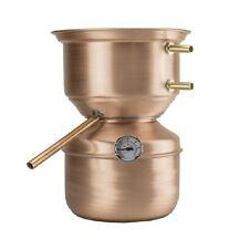 Distillatore Alambicco a fungo da 3 litri ideale per grappa, brandy, whisky, ecc