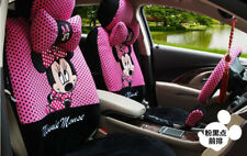 804 Mickey Minnie Mouse Car Seat Cover Cushion Accessories 18pcs 2018NEW