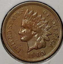 "1903-P 1C Indian Head Cent 17hct0805 ""UNC""  Only 50 Cents for Shipping*"