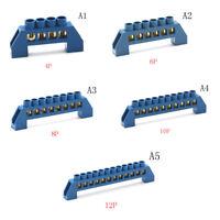 Laiton4-12P connecteur de fil de connexion vis bornier bloc de barrière250-45