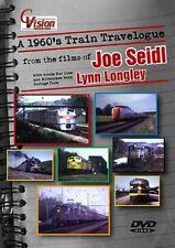 A 1960s Train Travelogue DVD NEW Cvision  C&NW Milwaukee Road Soo CP CN GG1