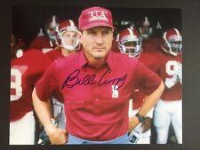 Bill Curry signed ALABAMA CRIMSON TIDE 8 X 10 photo  NICE!!!