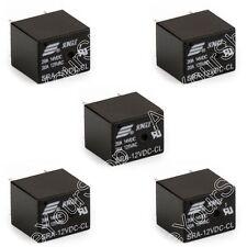 5Pcs SRA-12VDC-CL DC 12V Coil 20A PCB General Purpose Relé 5 Pin SPDT