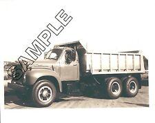 1964 MACK B-Model (B-60/B-61?) Tandem Axle Dump Truck 8x10 Glossy B&W Photo
