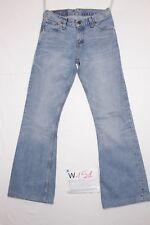 Levis 516 (Cod. W151) Tg41 W27 L34 ORLO RIFATTO jeans usato vintage bootcut