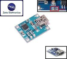 MODULO SCHEDA TP4056 MINI USB CARICA BATTERIE LI - ION 5V 1A LITIO ARDUINO