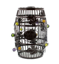 Wine Barrel Cork Holder – 100+ Corks Capacity – Wine Cork Collector Catcher Cage
