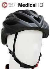 HeartsBio Road Bike Helmet - 7 oz -light weight  with medical ID and stickers